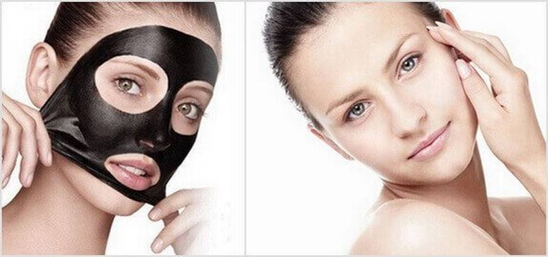 Black Mask Προσώπου
